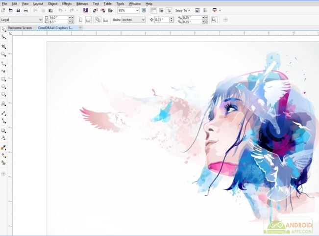 Corel Draw X7 video tutorials app