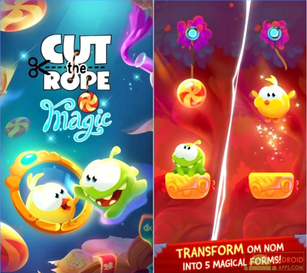 Cut the Rope Magic Game