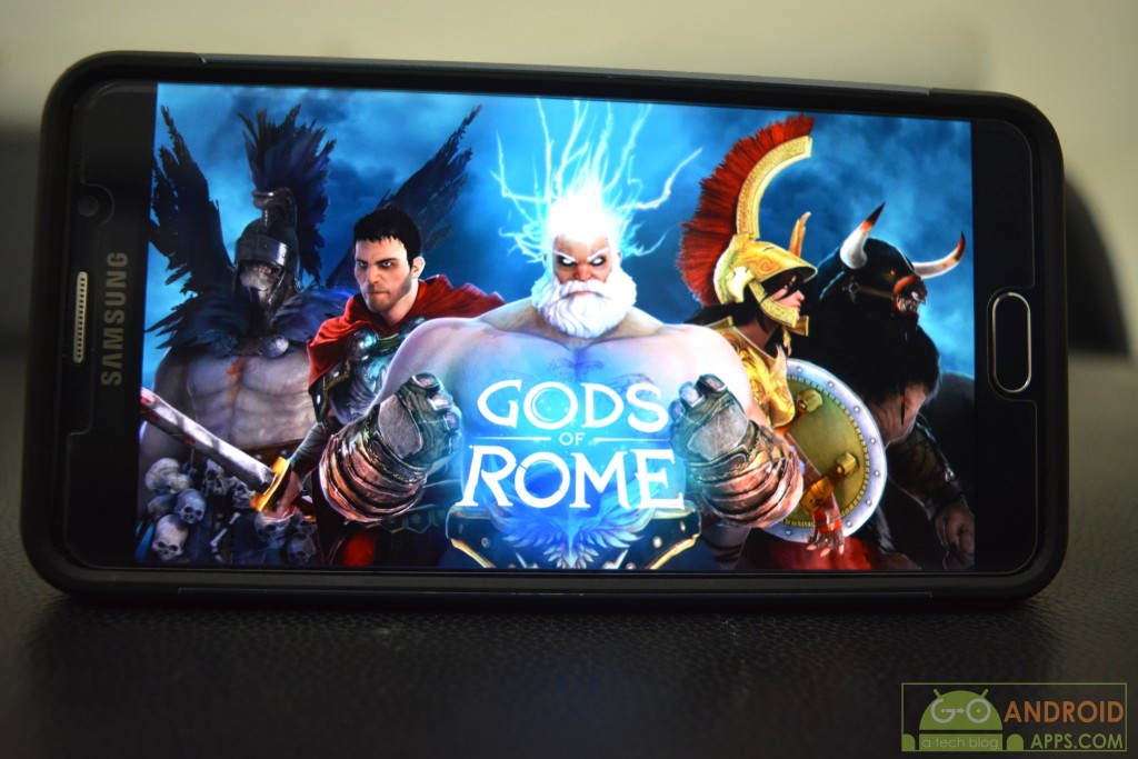 Gods of Rome, best high graphics android games
