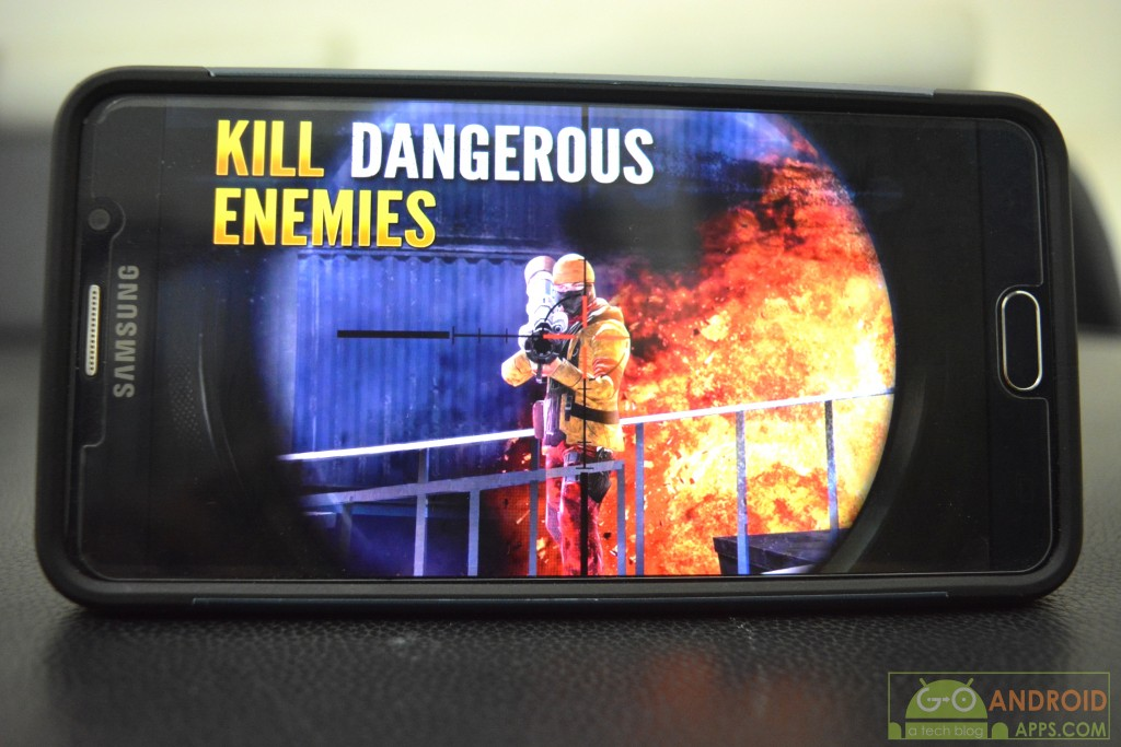 Sniper Fury, best high graphics android games