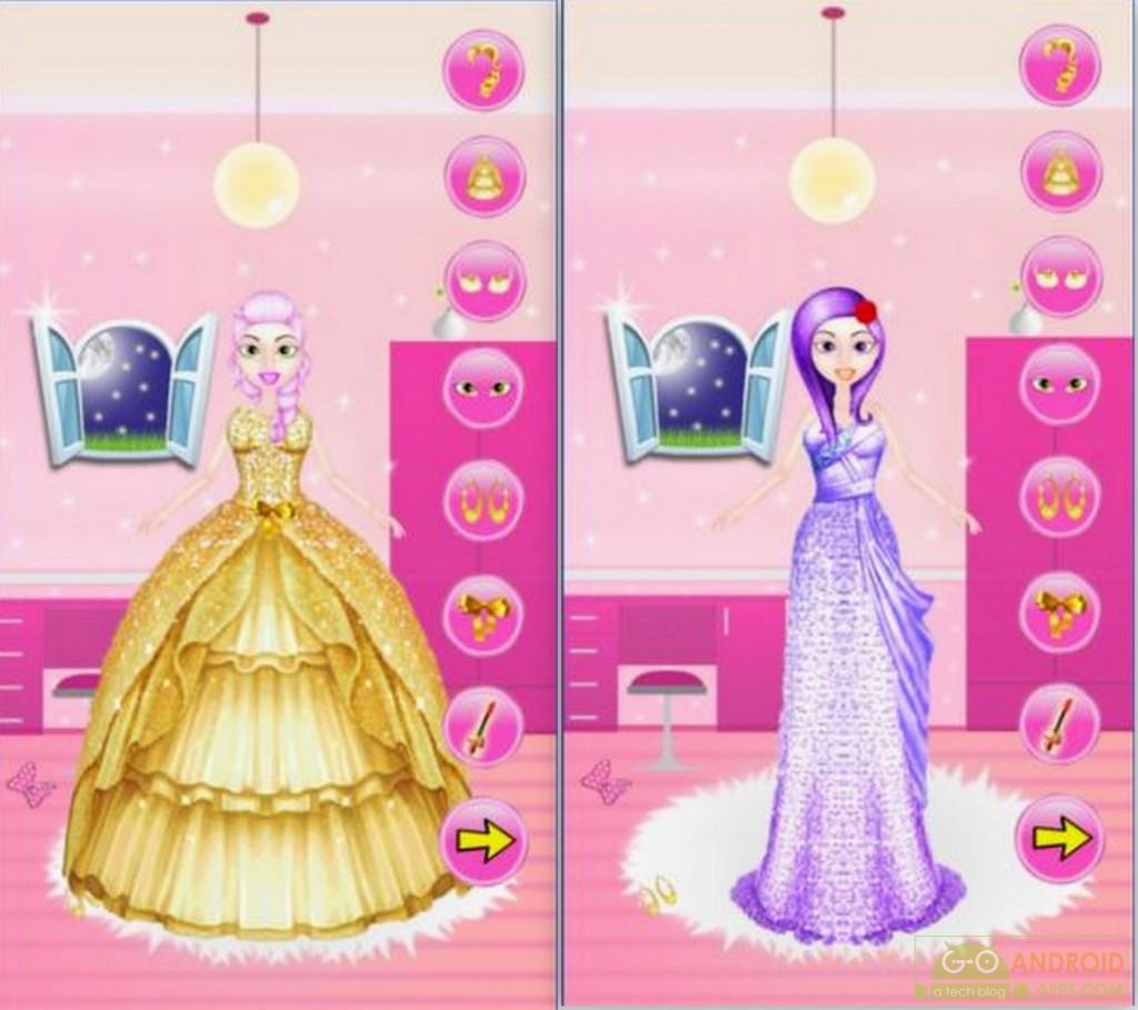 Dress Up Princess Girl App