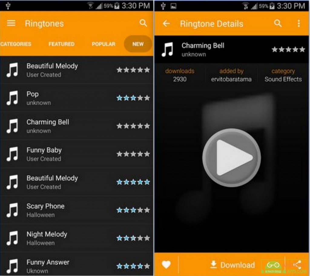Funny Ringtones App