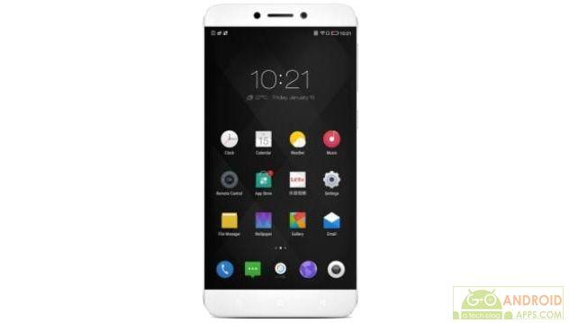 LeEco Le 1s White Front, LeEco smartphone