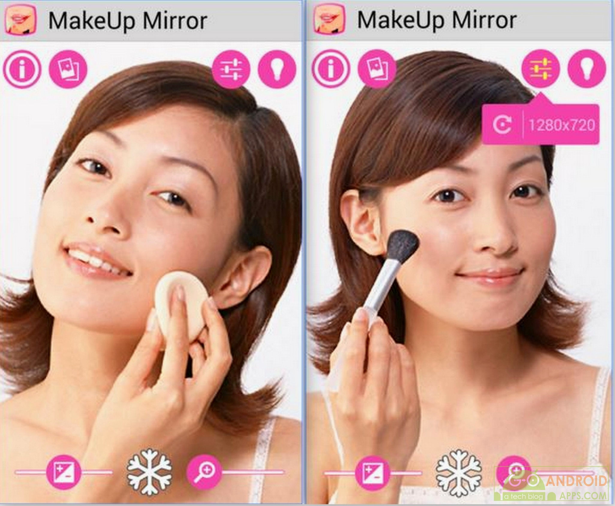Top 5 Best Android Mirror Apps For Makeup