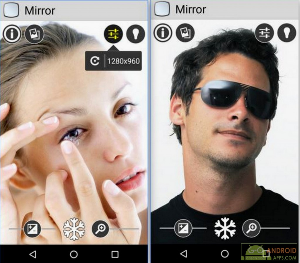 mirror app android