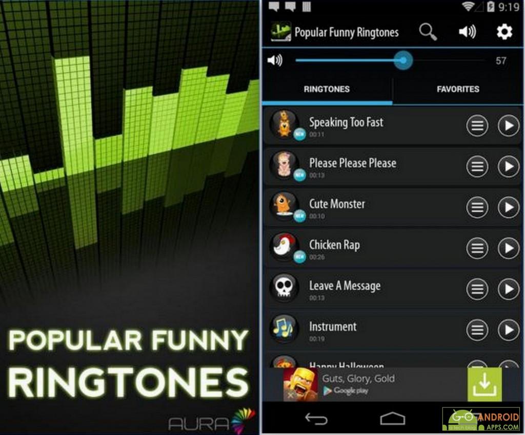 Popular Funny Ringtones App