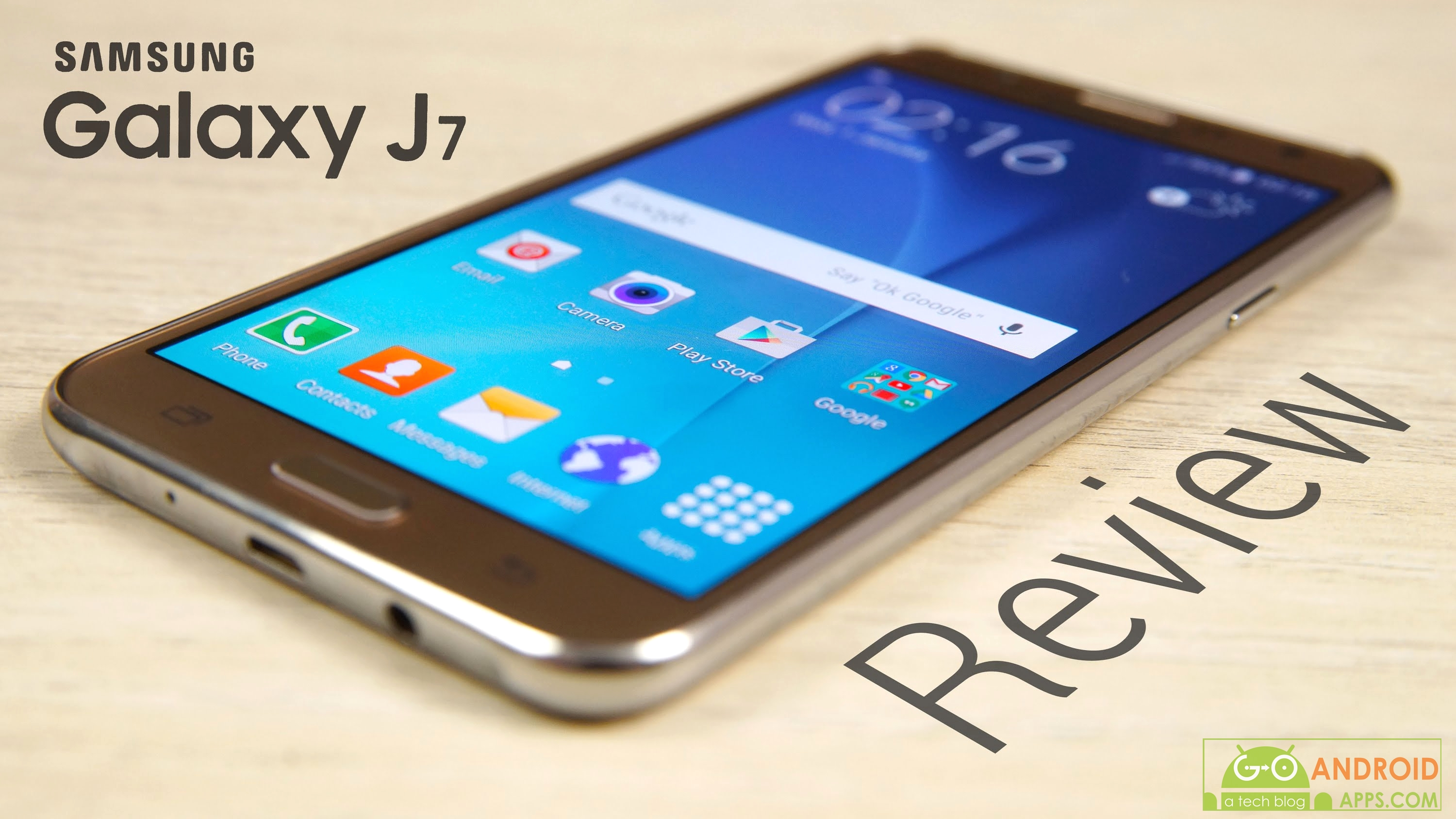 SAMSUNG GALAXY J7 (2016) REVIEWS - Go Android Apps