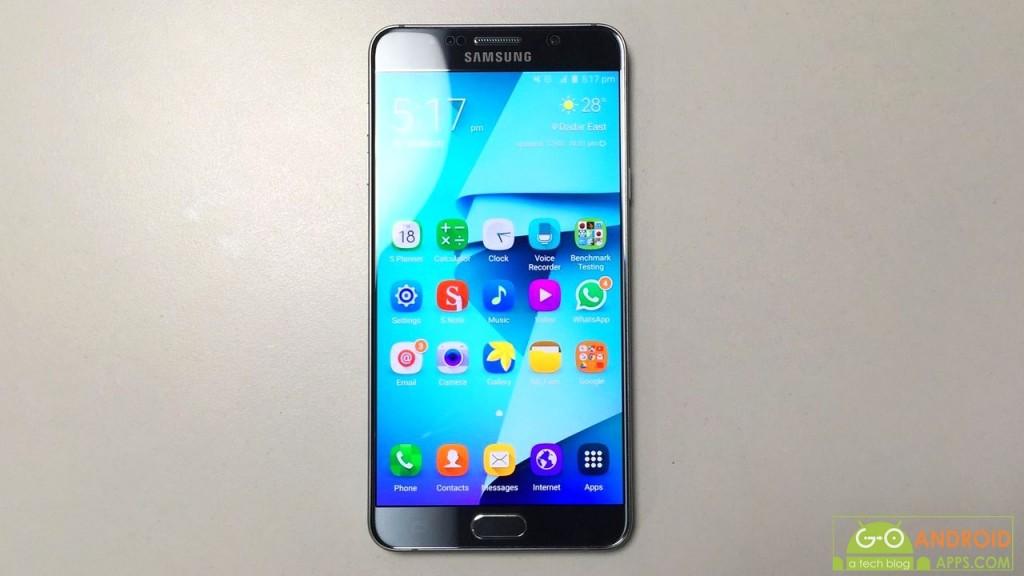 Samsung Galaxy Note 5 Dual Software