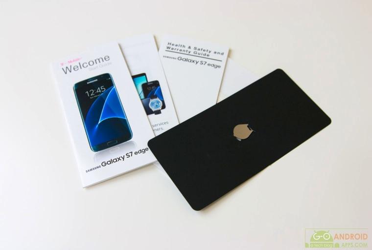 Samsung Galaxy S7 Edge Box Accesories