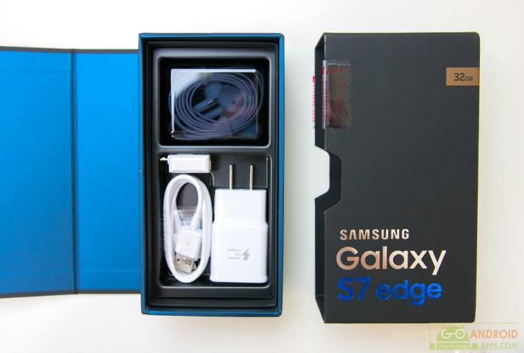 Samsung Galaxy S7 Edge Box with Accesories