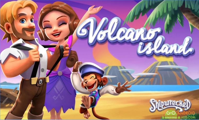 Shipwrecked Volcano Island, Time Management Games