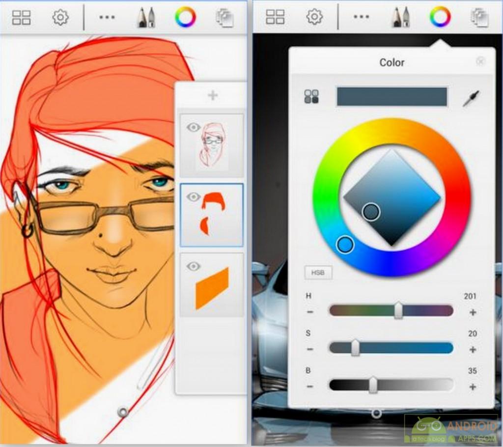 SketchBook Express App