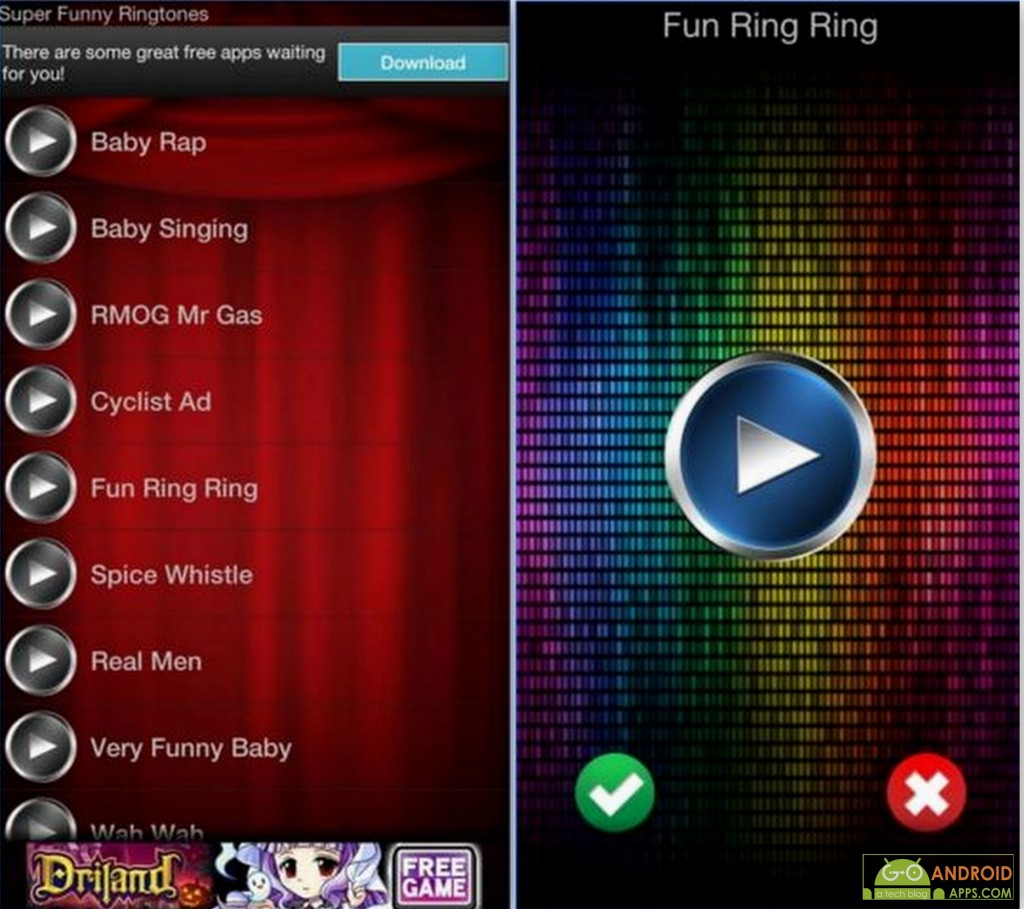 Super Funny Ringtones App