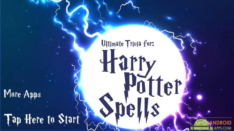 Trivia for Harry Potter Spells App, Harry Potter Games