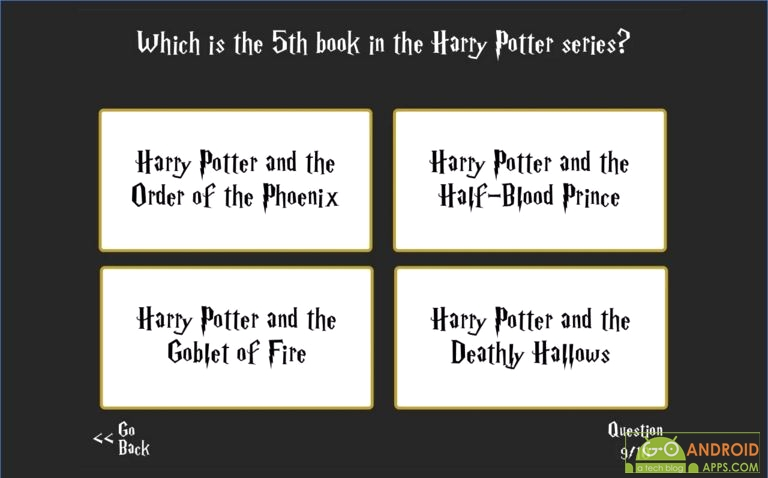Ultimate Harry Potter Trivia Game