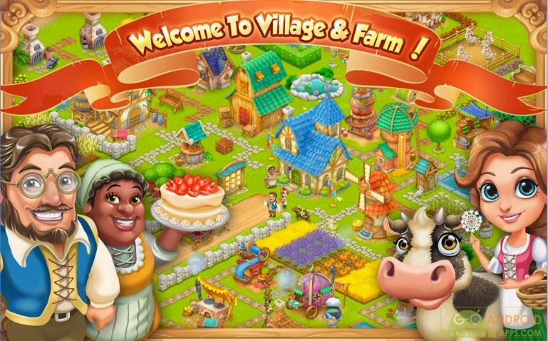 Village and Farm App, Creativity Apps for Android