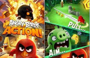 Angry Birds Action Android Game