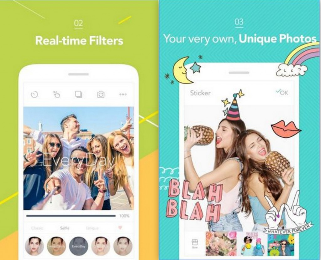 Candy Camera for Selfie App