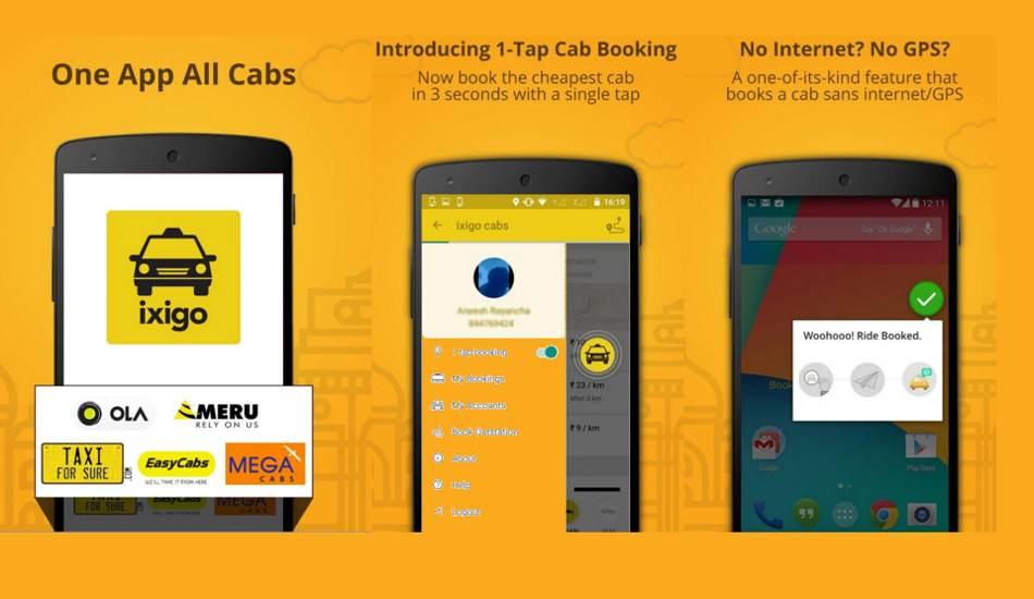 Ixigo cab booking
