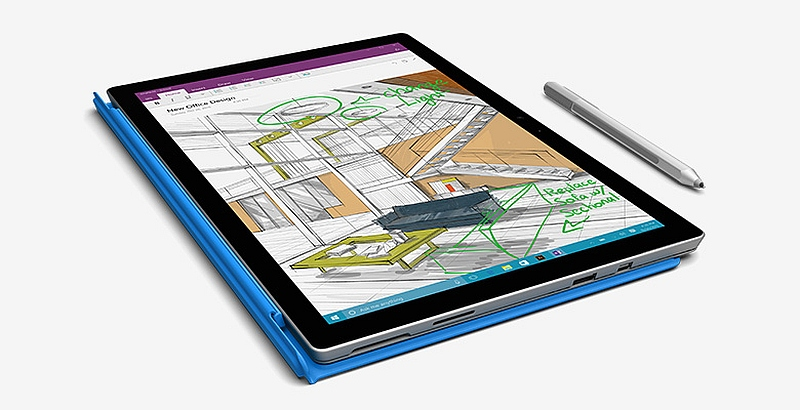 Microsoft Surface Pro 4 Display