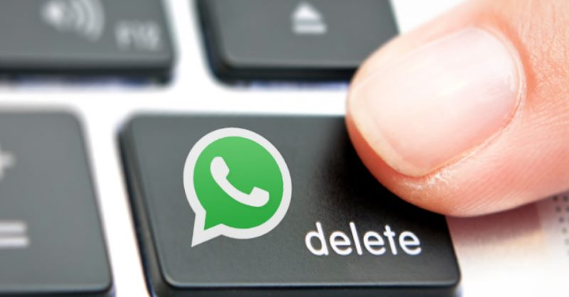 Now you can delete your sent messages to wrong person on Whatsapp