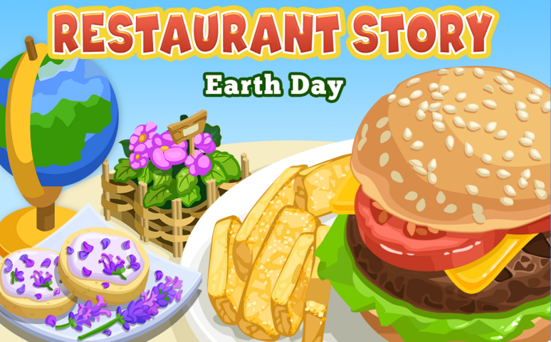Restaurant Story Earth Day