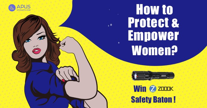 APUS & ZOOOK partnered to promote women protection & empowerment