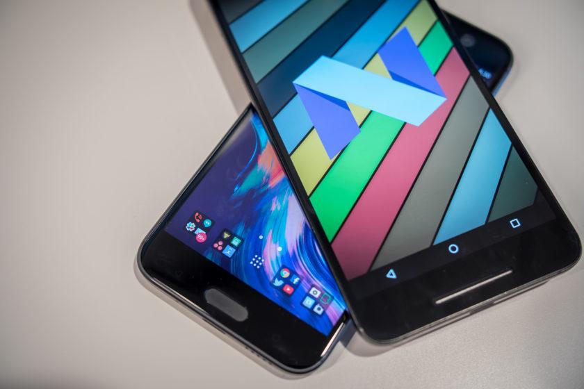 HTC 10 vs Nexus 6P Software