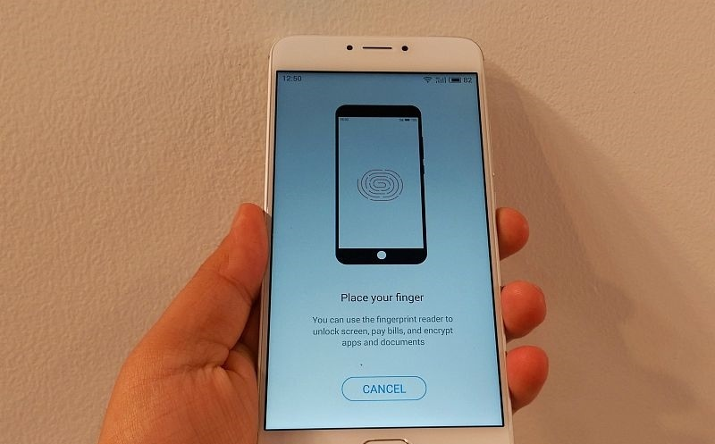 Meizu m3 note Fingerprint