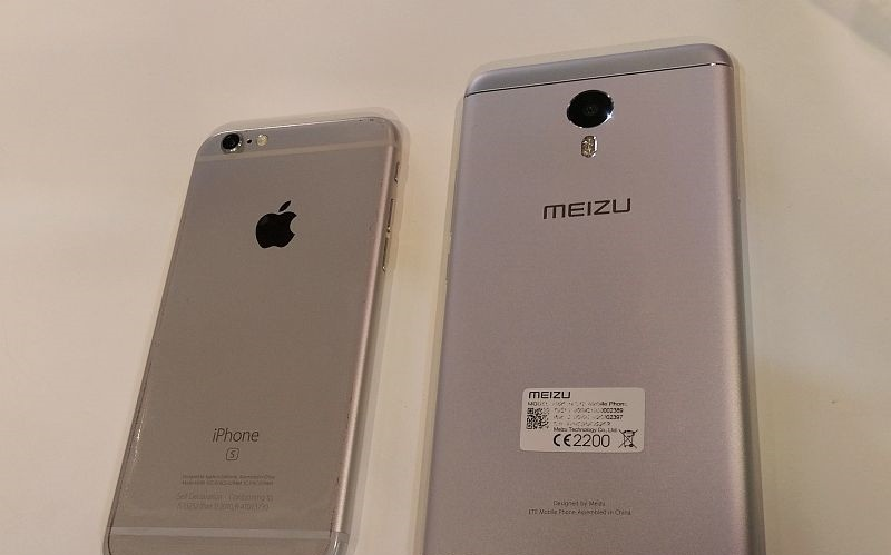 Meizu m3 note vs Iphone 6