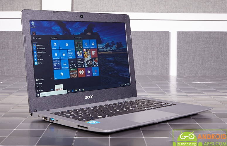 Acer Aspire one Cloudbook 11 Design
