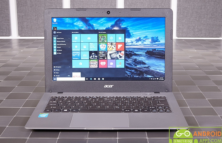 Acer Aspire one Cloudbook 11 Laptop Review