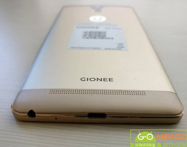 Gionee Marathon M5 Plus Body