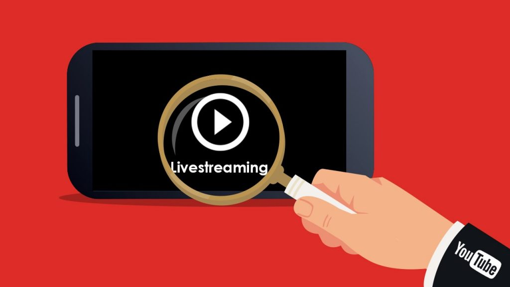 Now you can use Youtube live streaming features on mobile app