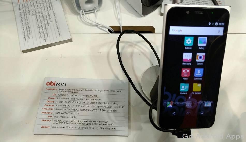 Obi Worldphone MV1 Smartphone