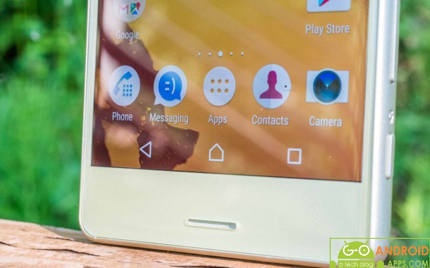 Sony Xperia X Software