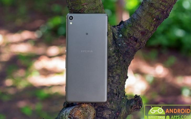 Sony Xperia XA Body