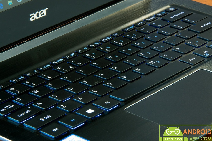Acer Aspire S 13 Keyboard