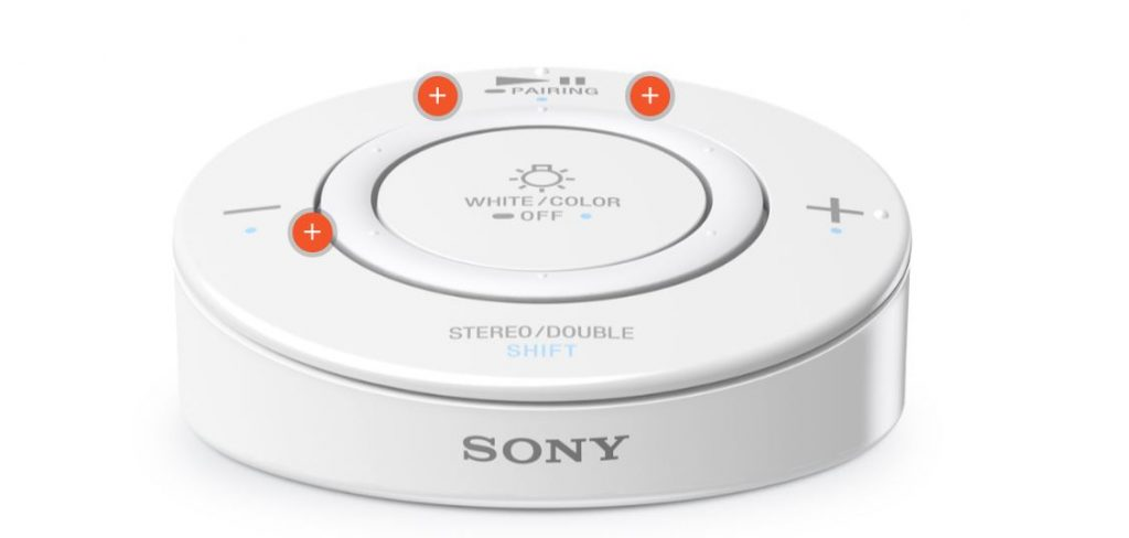 Sony LED Bulb Speaker controller