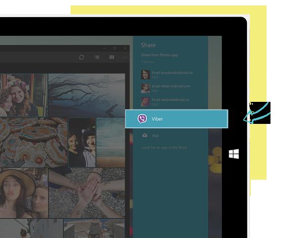 Viber video calls on window 10