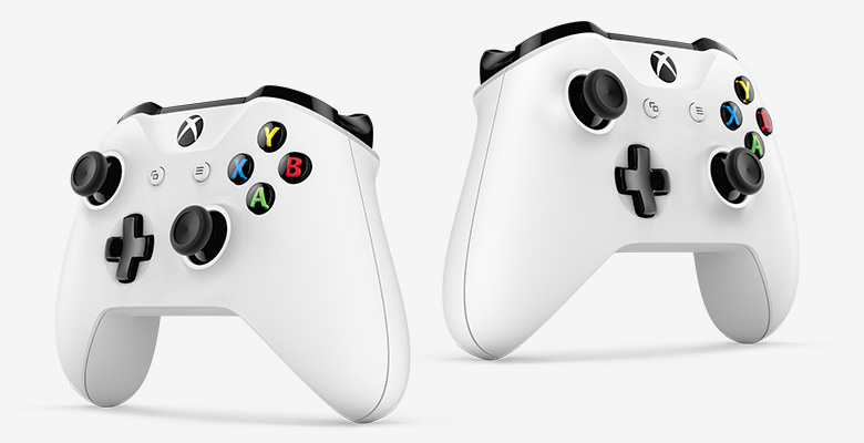Xbox One S controllers