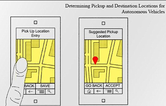 google patent self driving