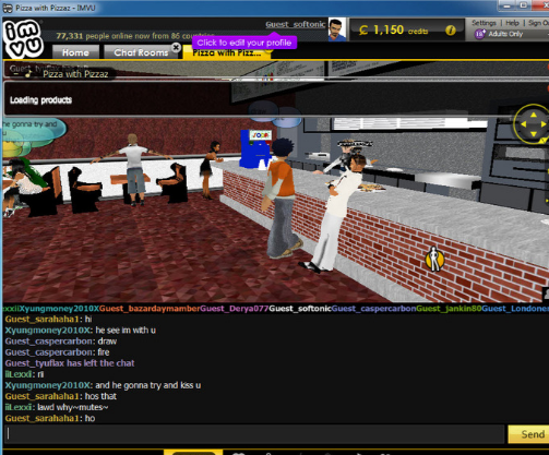 how to find people on imvu