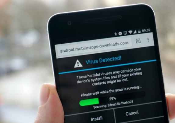 how to find malware on android phone
