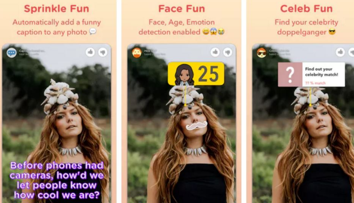 Microsoft's new camera app uses AI to offer up Snapchat-style effects