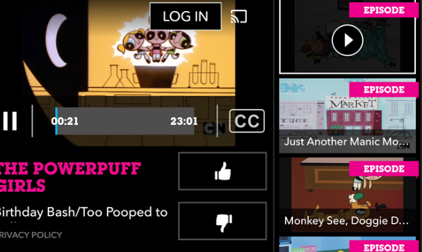 Cartoon Network Android App Adds Chromecast Support ...