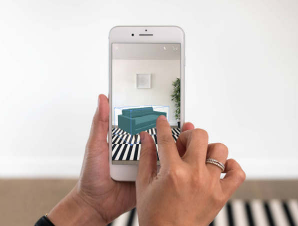 houzz ios app update adds new ar mode feature. Black Bedroom Furniture Sets. Home Design Ideas