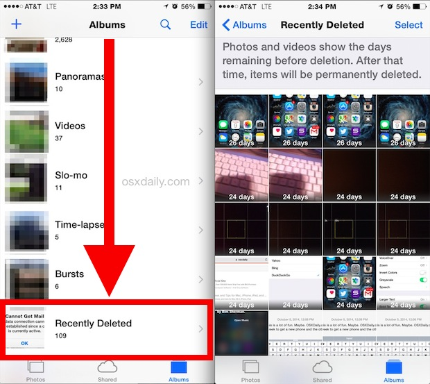 How To Recover Recently Deleted Videos On Iphone