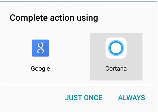 Cortana for Android updated with ability to set it as default assistant