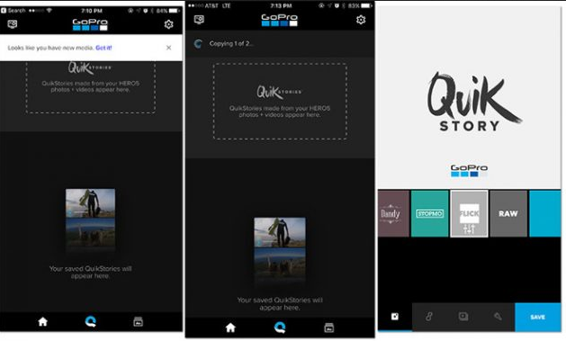 New GoPro QuikStories App Launched